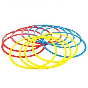 Кольца тренировочные (комплект 12 шт, 3 цвета, 50см) + сумка