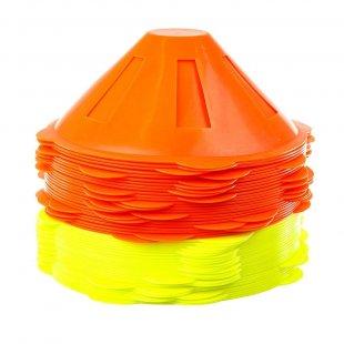 Спортивные фишки для тренировок (комплект 2 цвета 50 шт)