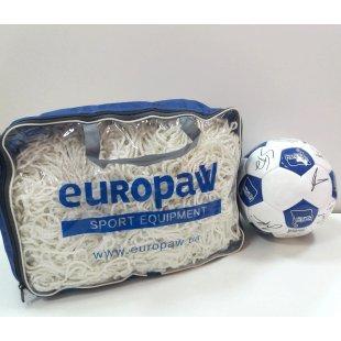 Сетка футбольная для ворот (узловая) 55150