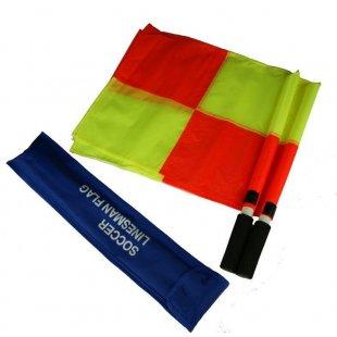 Флаги судейские LINESMEN квадрат (комплект)