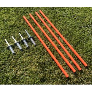 Слаломна стойка для футбольного поля (комплект 4шт) высота 170cm