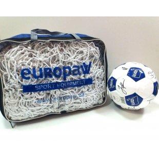 Сетка Europaw для больших футбольных ворот 11х11 (узловая)