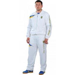 Спортивний костюм Europaw Ukraine white